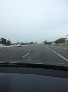 The 405 virtually empty