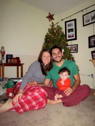 Sarah (372 mo), Dave (408 mo), and Abby (7 mo)