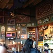 Lots of cool art on the walls. Sort of feels like Seattle.