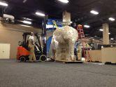 A huge elephant!