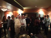 The private party was a great opportunity to mingle and meet new people.