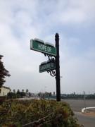 At the corner of Hope Drive ...