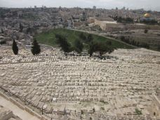 The graves near the Temple Mount