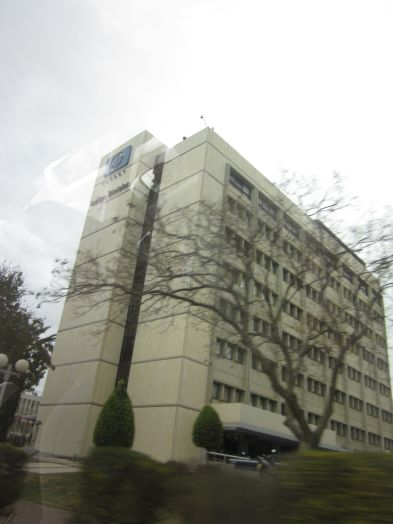 The HP Indigo building where I have my meeting with Gershon
